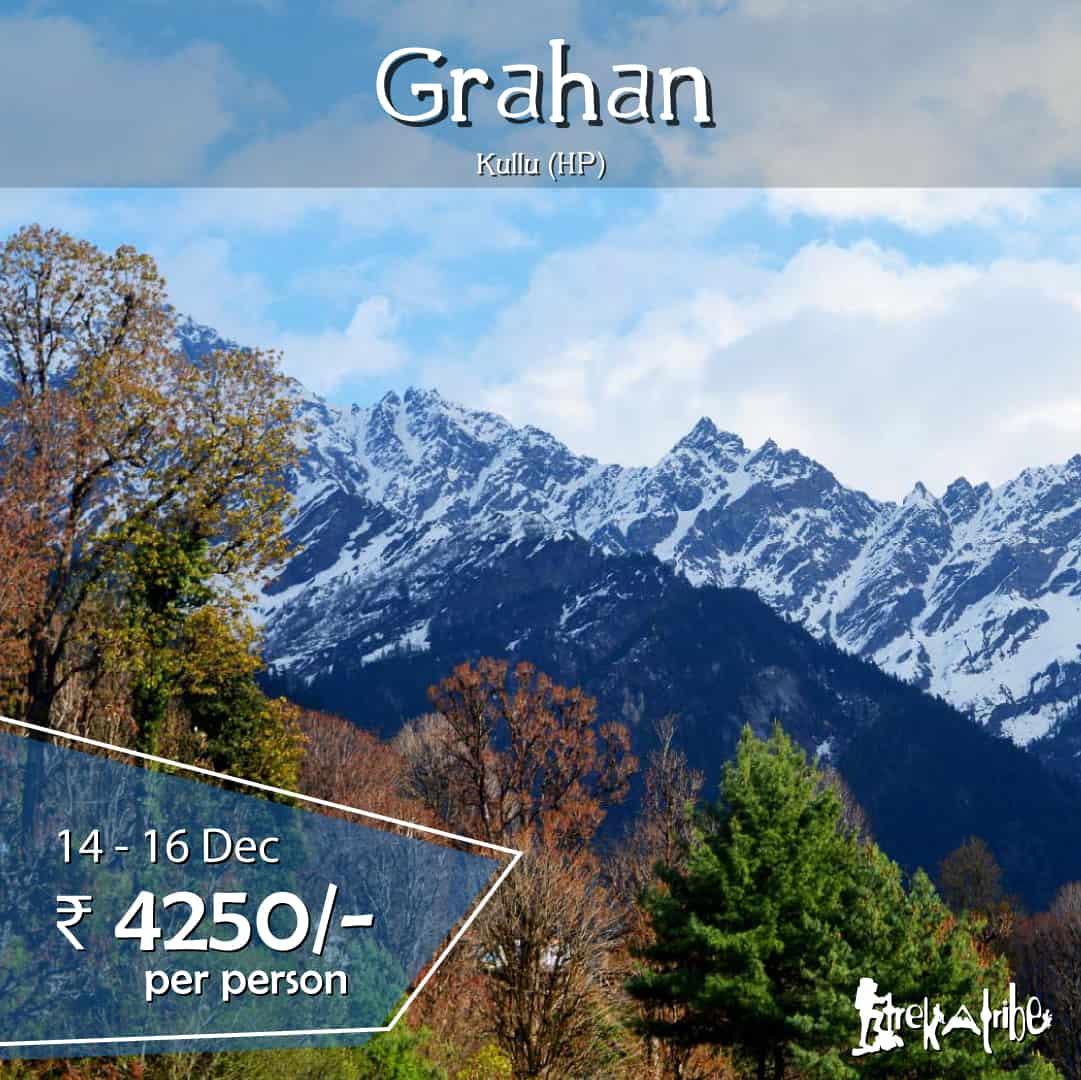 Grahan village trek, parvati valley