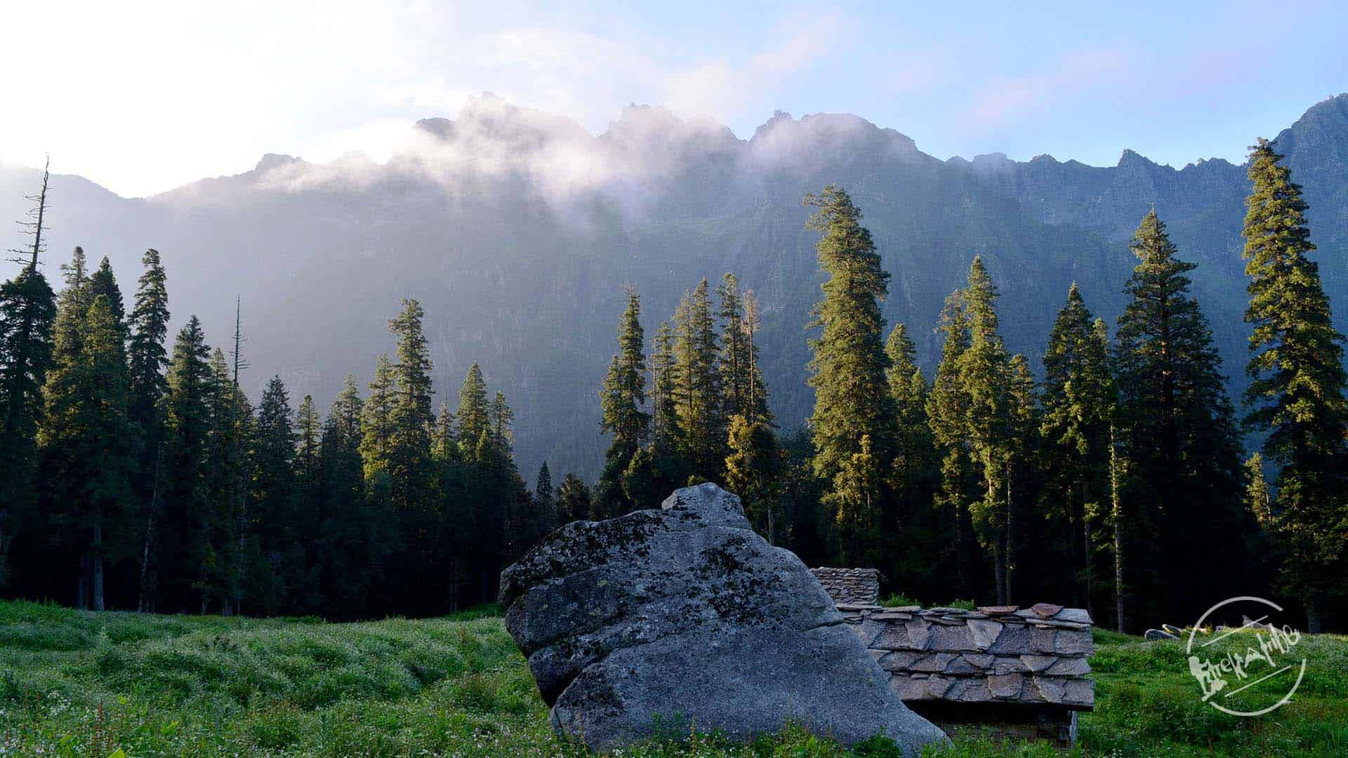 Chandernahan lake Trekking - Rohru , shimla