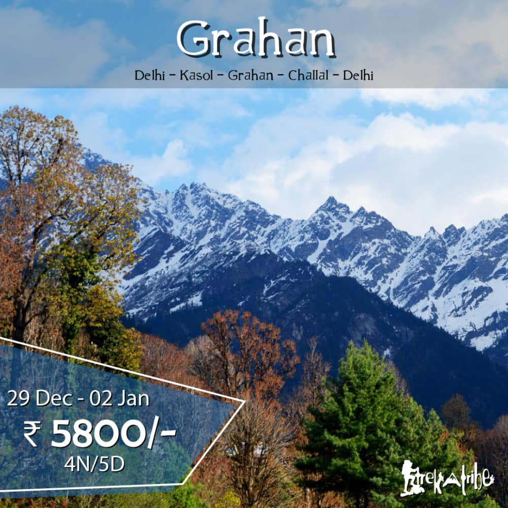 Grahan Trek unexplored treks near manali parvati valley