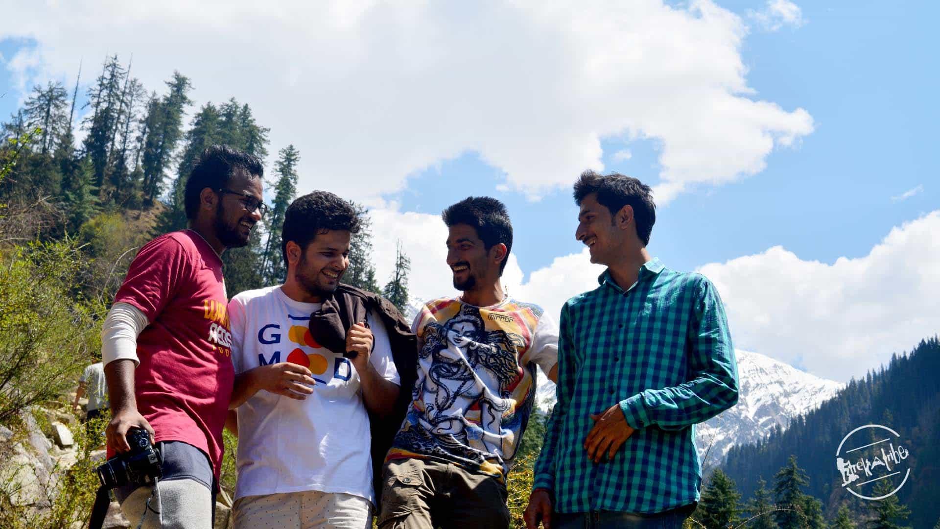 Grahan Village Trekking Parvati Valley