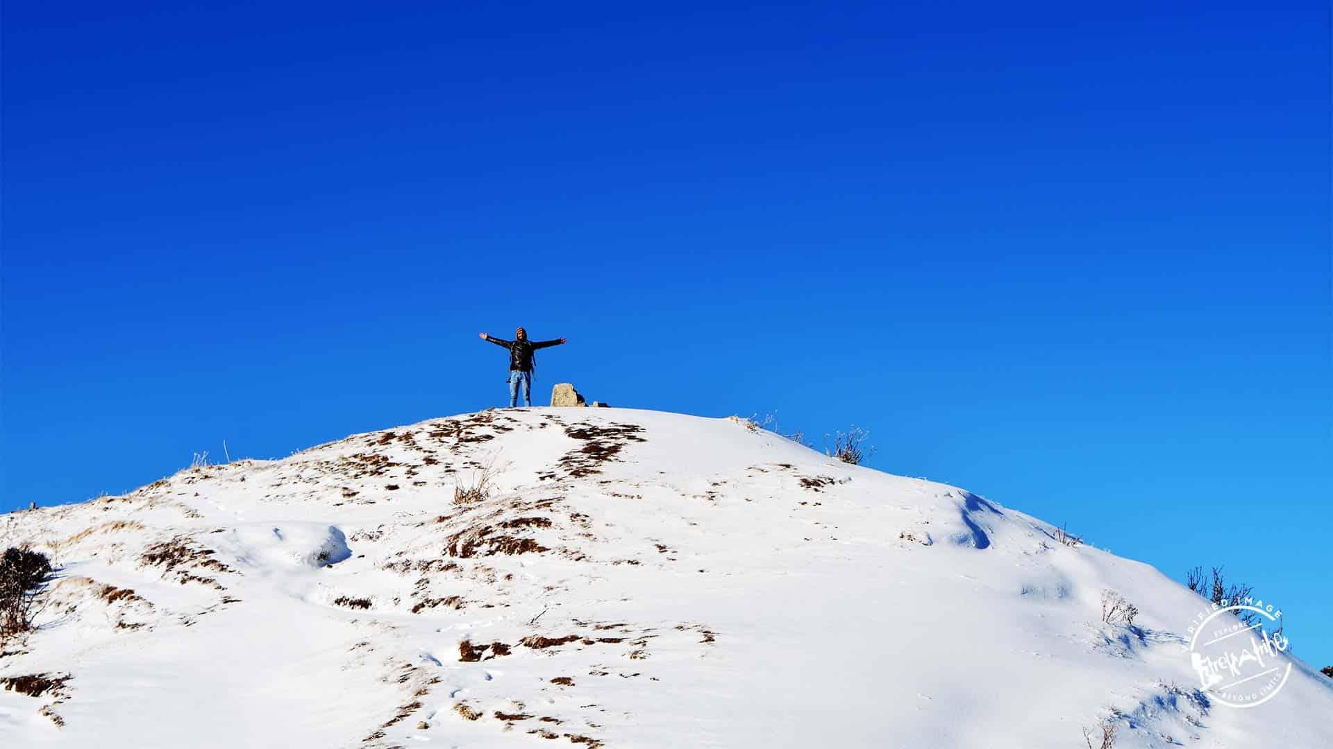 Hatu Peak Trek - Hill top