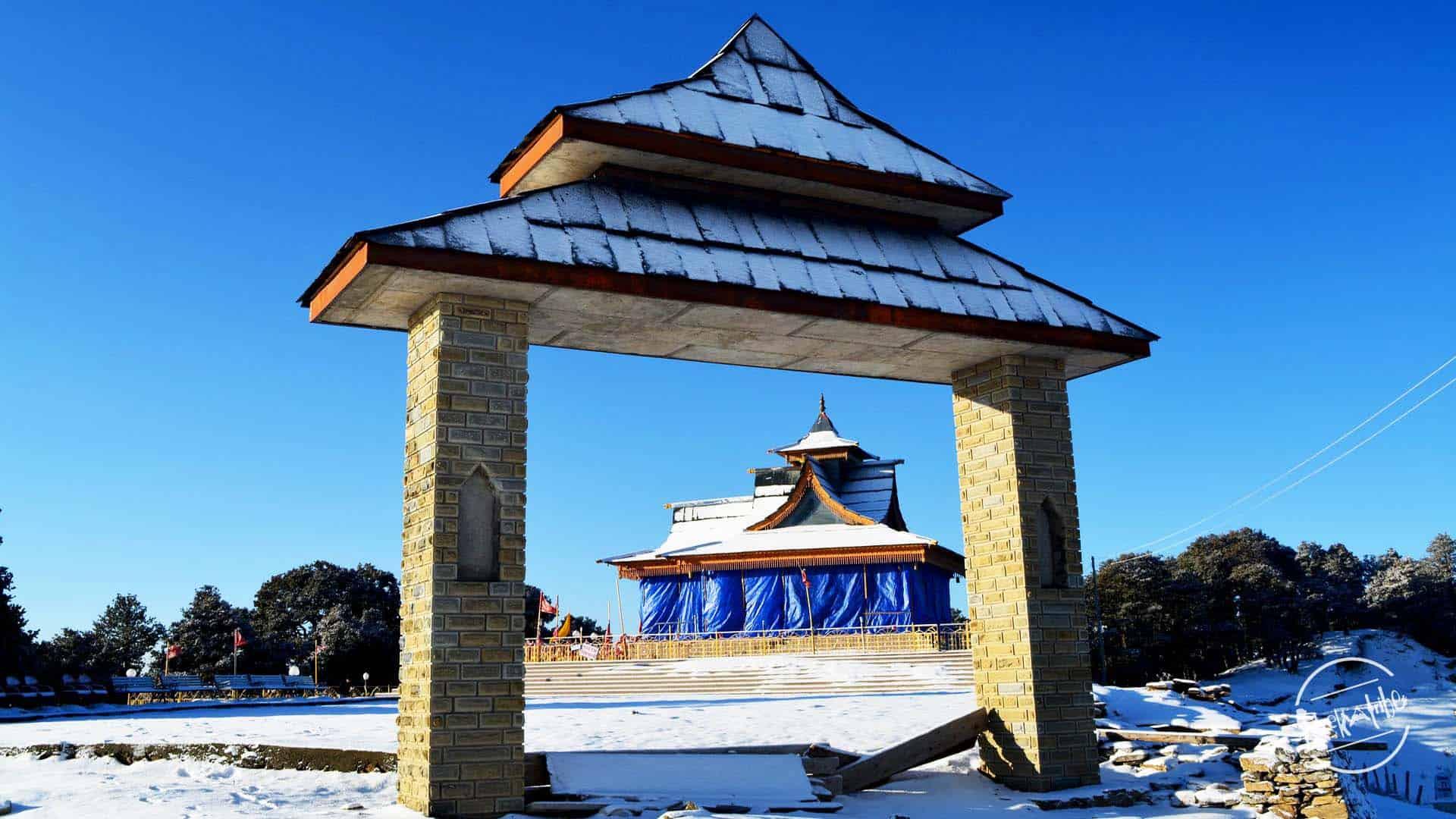 Hatu Peak Trek - Temple