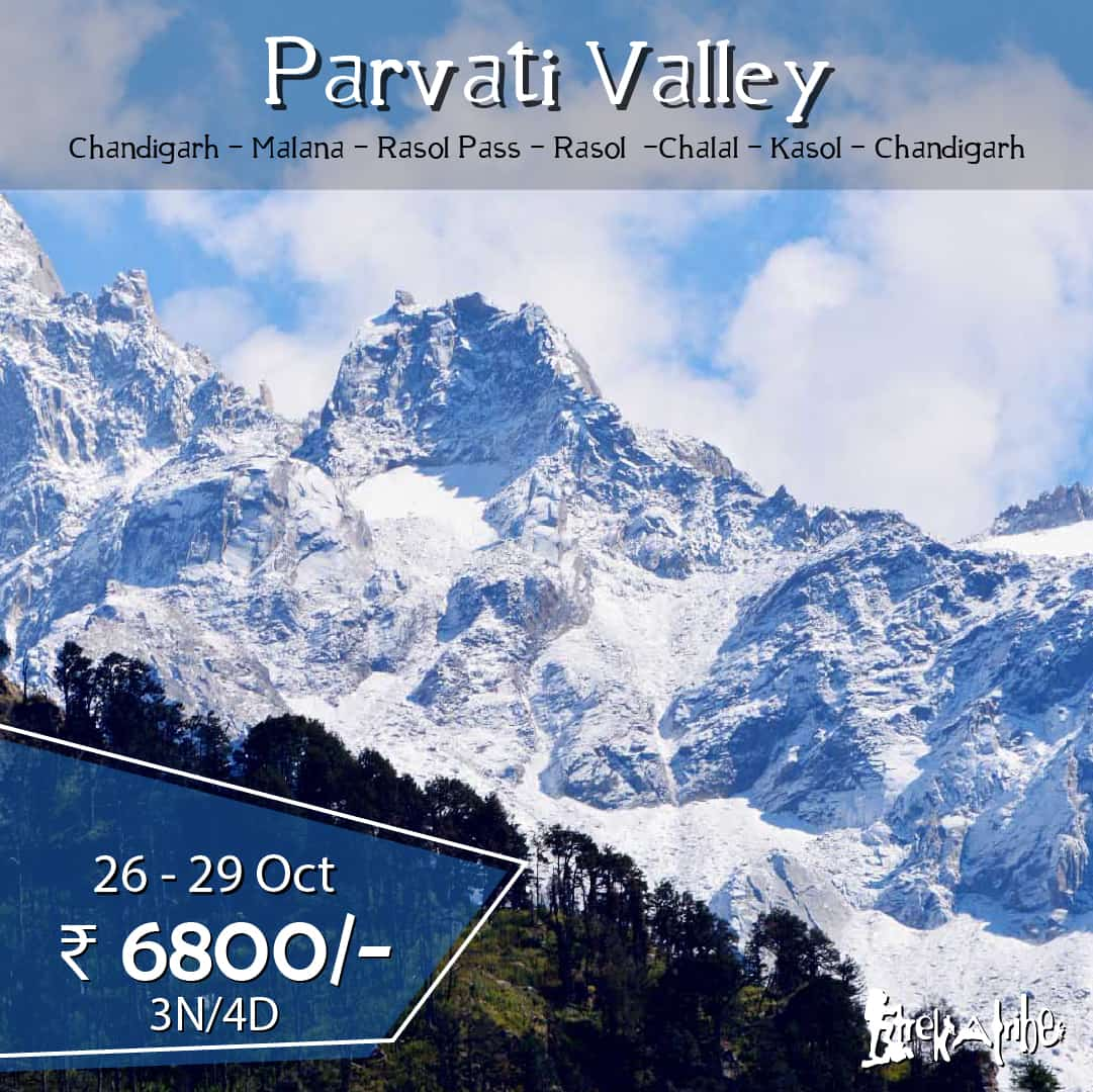 Parvati Valley trek
