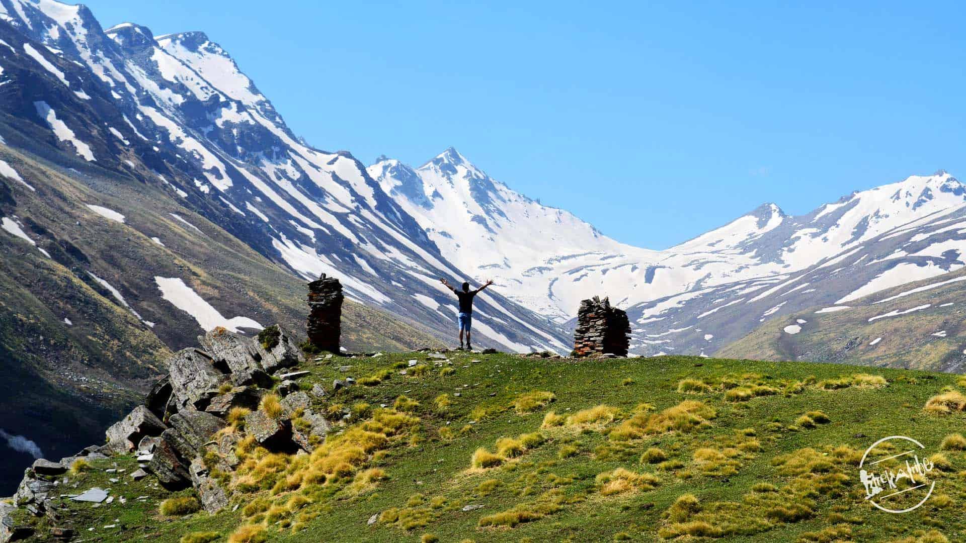 Rupin Pass Trekking- Classy View of Rupin Pass