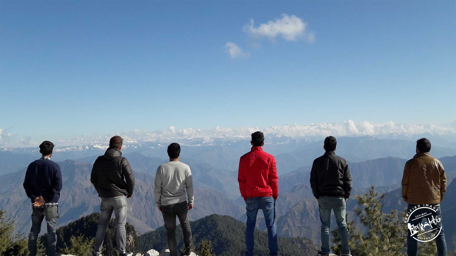 Shali Tibba Trek - View of Shrikhand Range