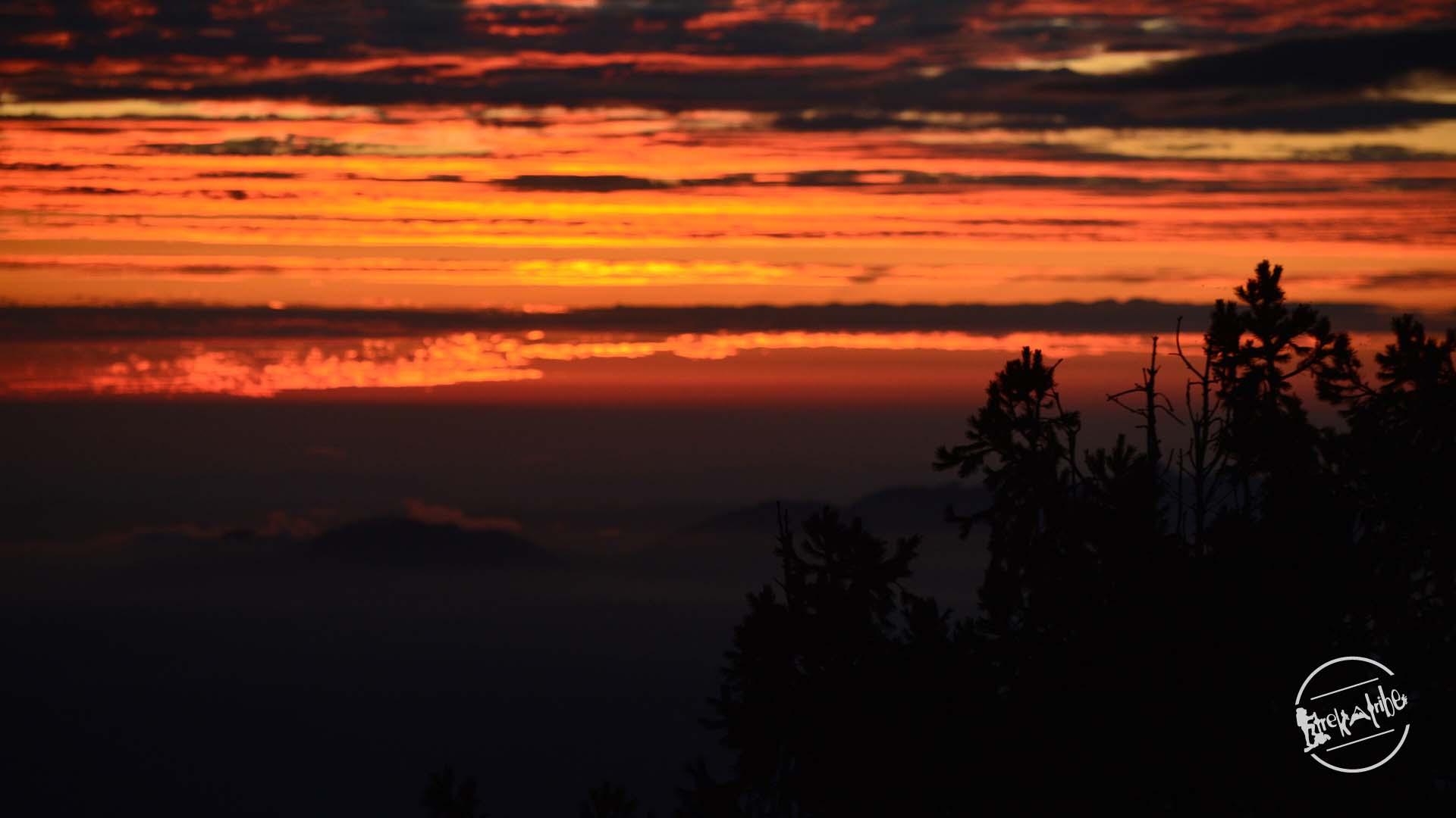 Shali Tibba Trekking - Magnificent Sunset