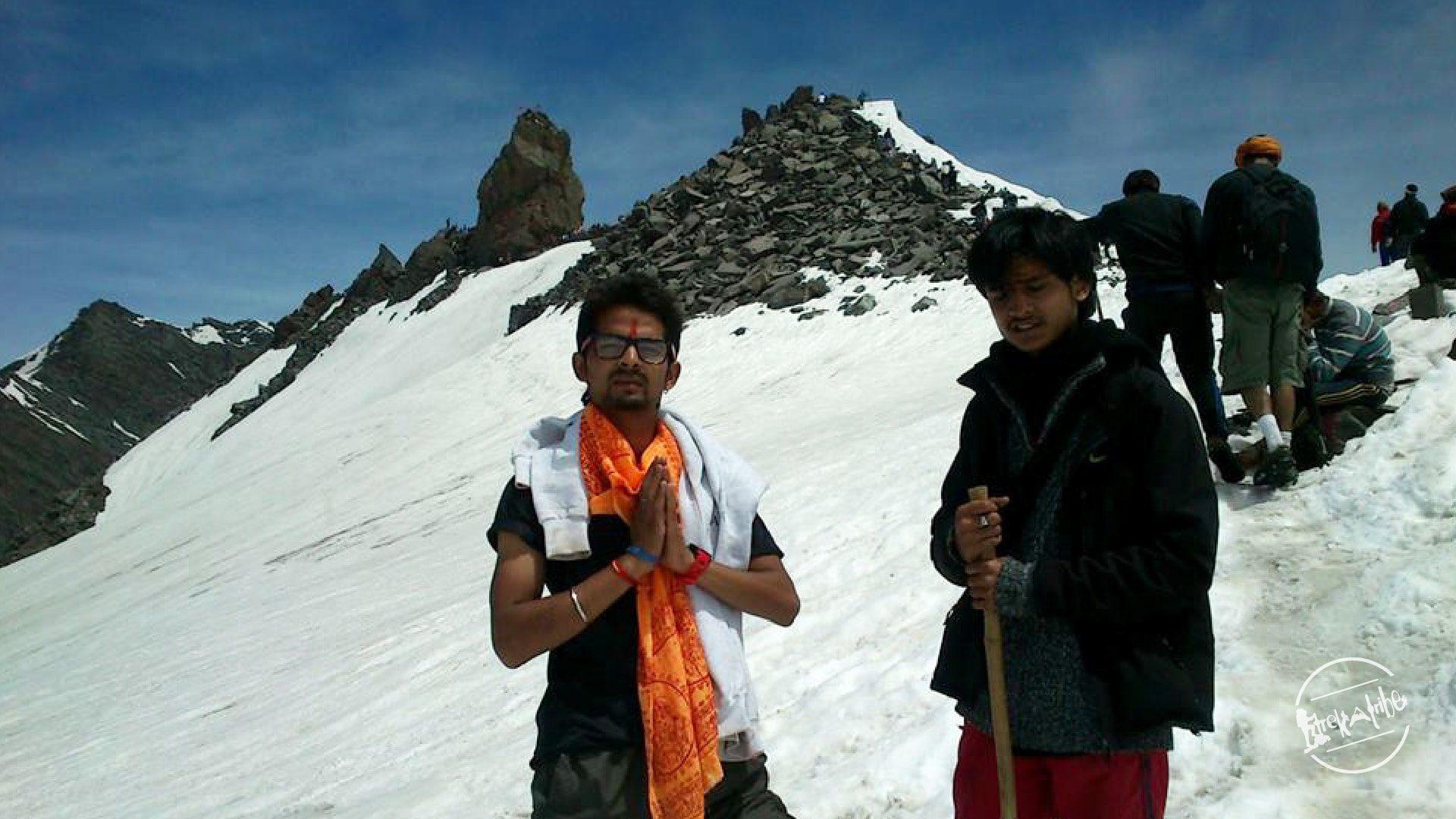 Shrikhand Mahadev Trek - Best treks in Himachal Pradesh
