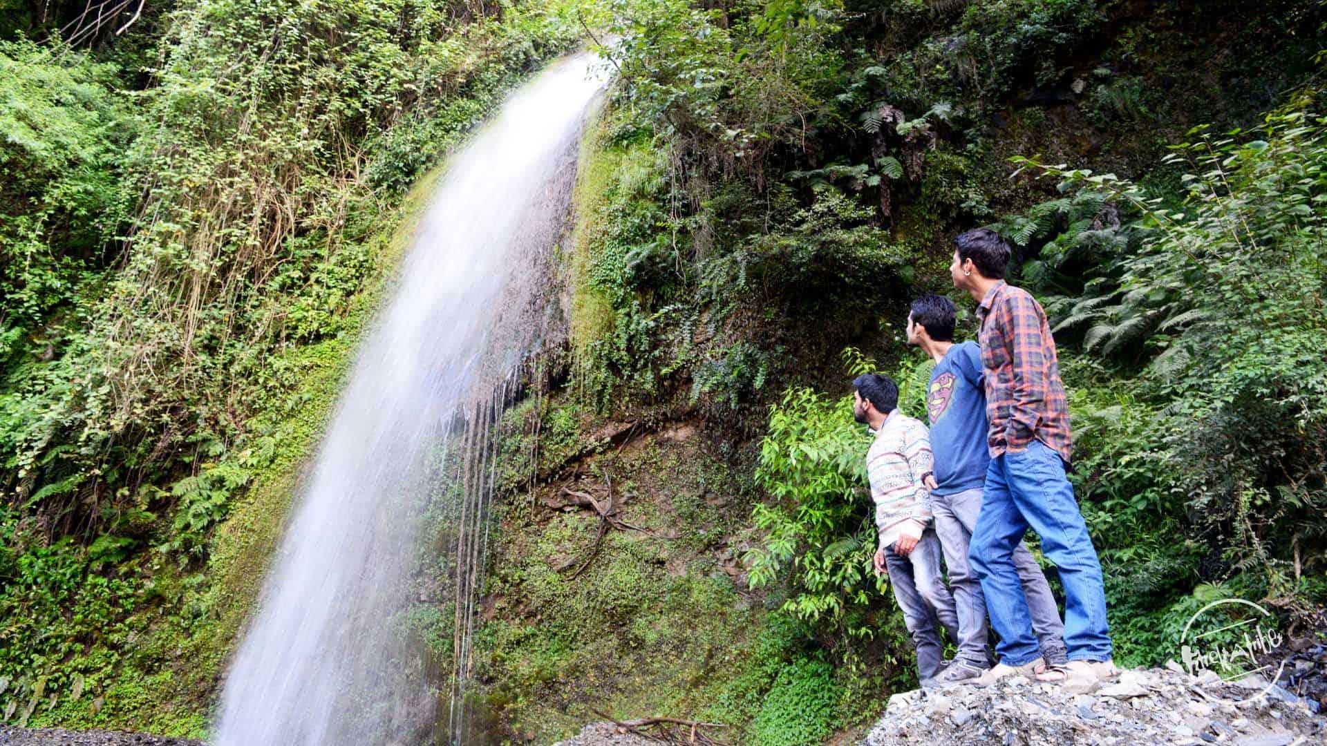 Waterfall En-route Shali Tibba Trek