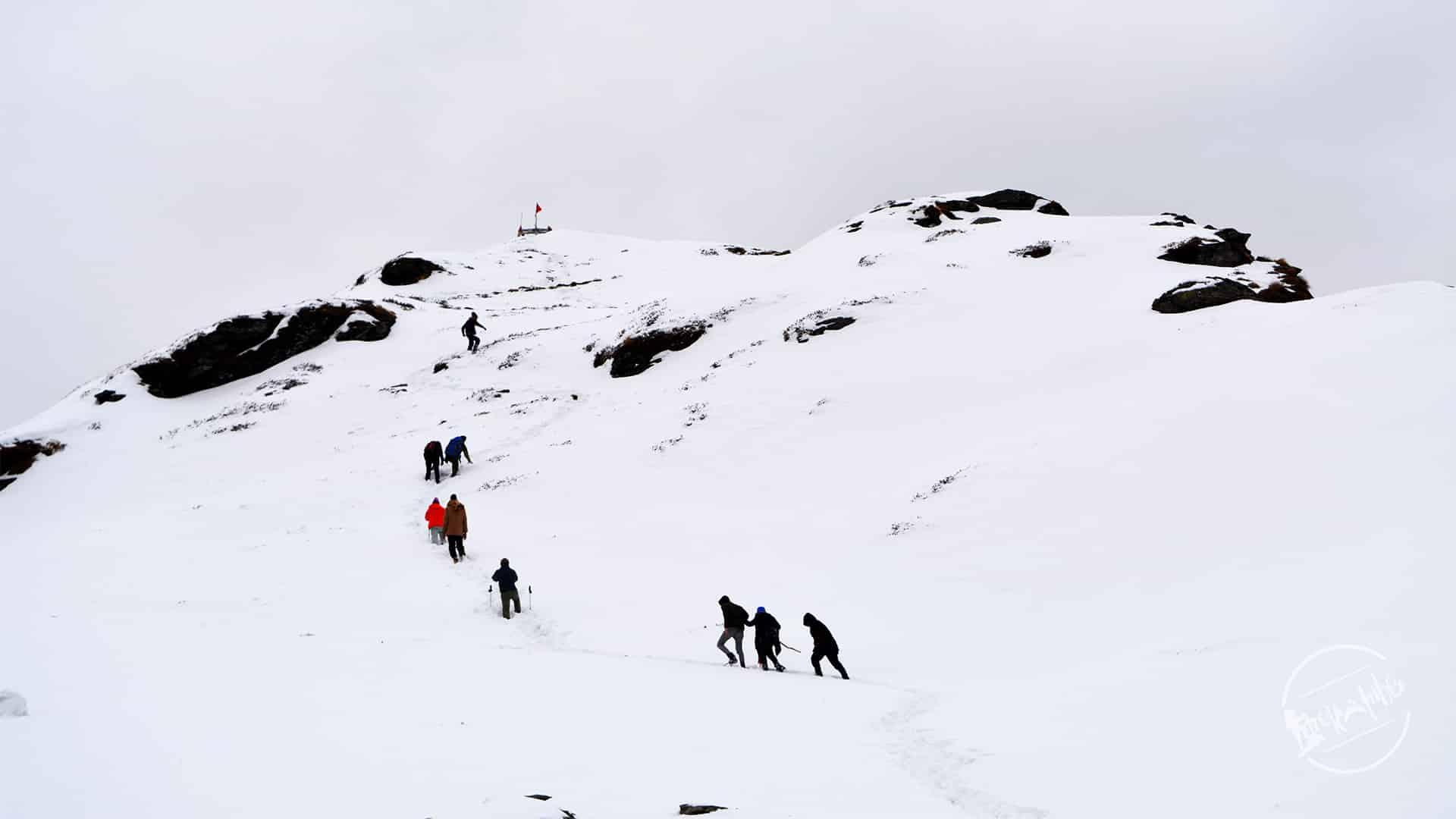 Trek to Chandershila Peak