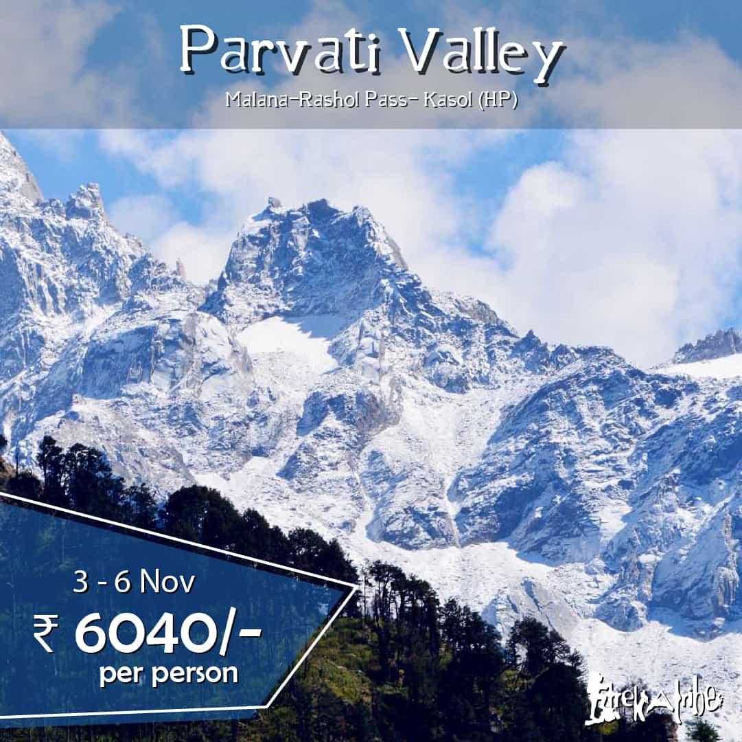 Parvati Valley Trek, Kullu, Himachal Pradesh
