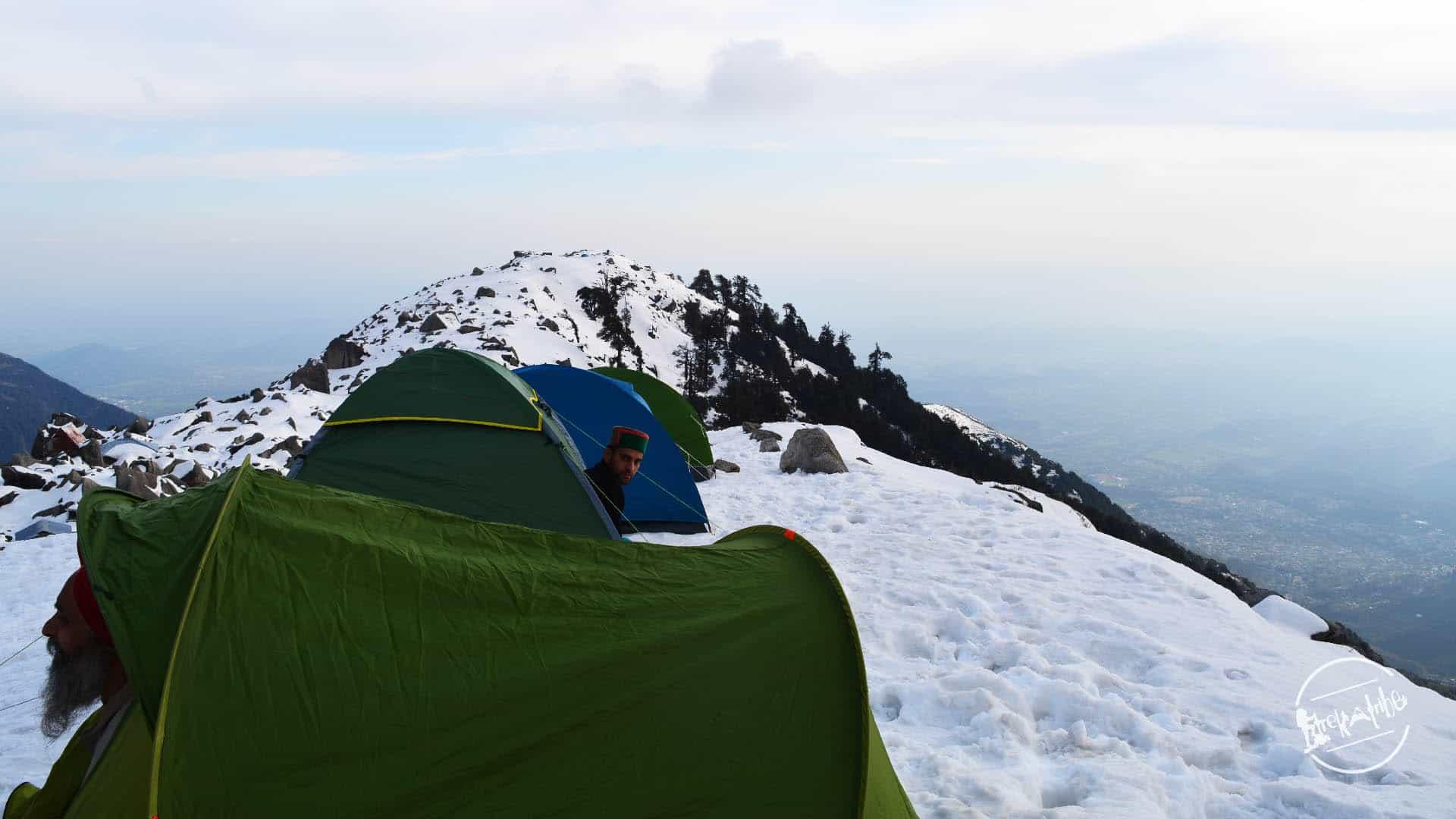 Snow Trek camping - Triund - Trekatribe