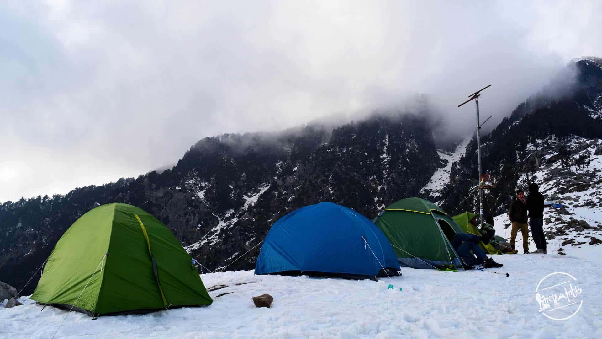 Trekatribe camping - Triund Trek in Dharamshala
