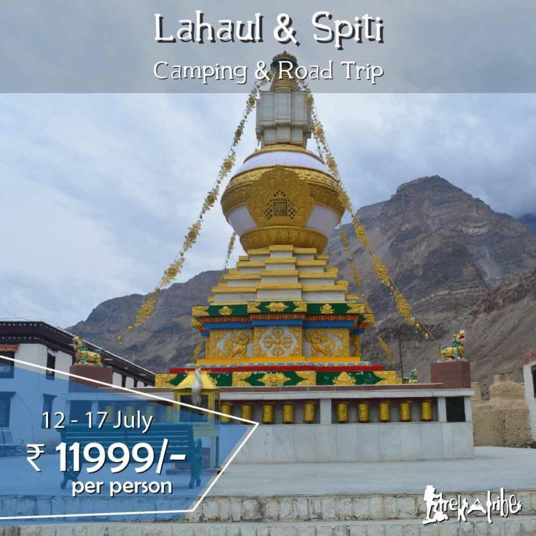 Lahaul & Spiti Camping & Road Trip