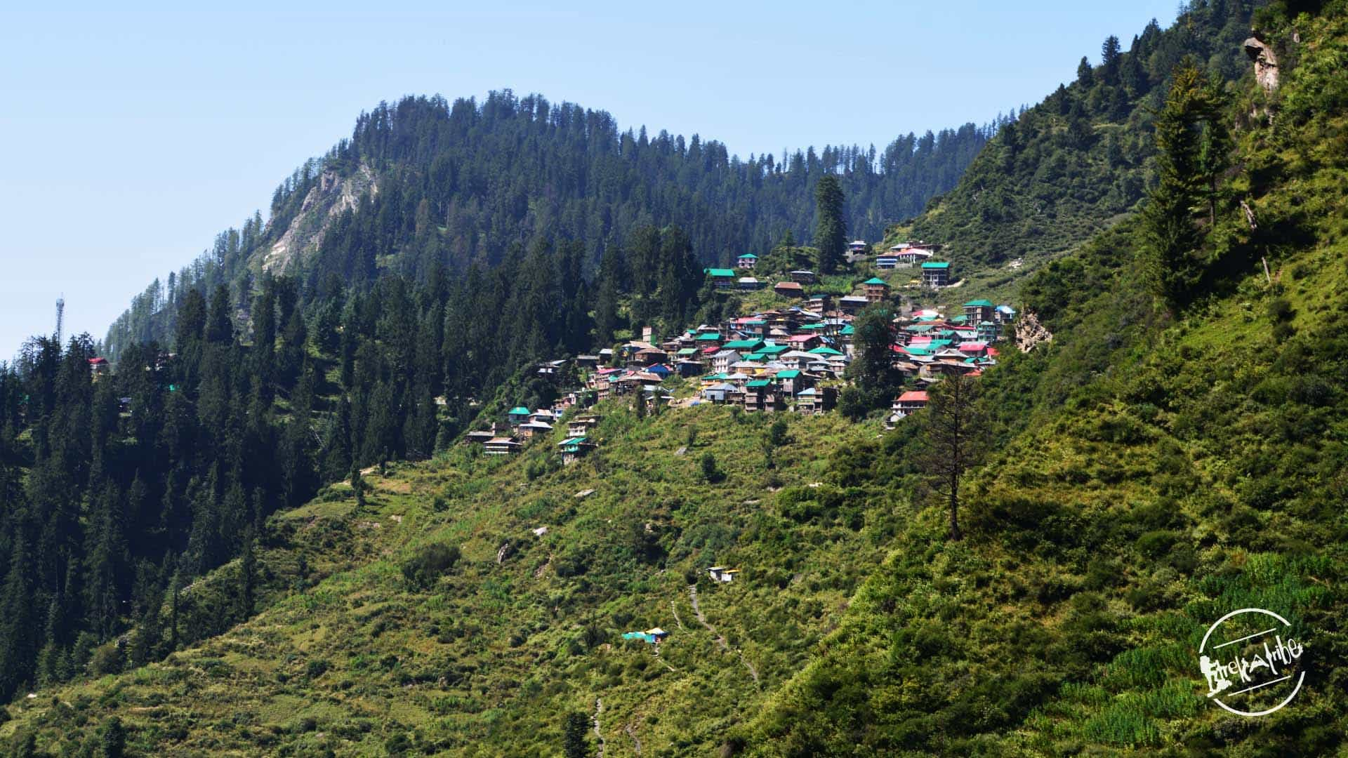 waichin valley trek - malana village