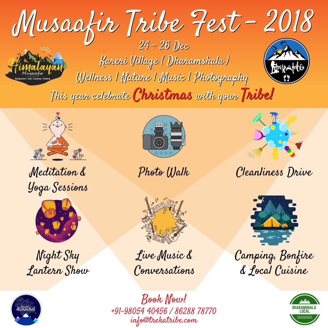 musaafir tribe festival event in dharamshala