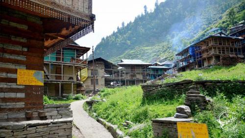 Trek to Chandrakhani pass - Rungsu