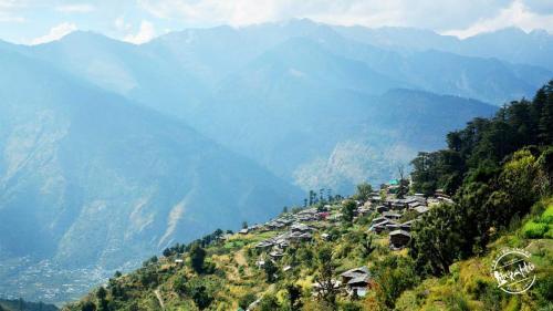 Chandrakhani pass -Village, Parvati Valley