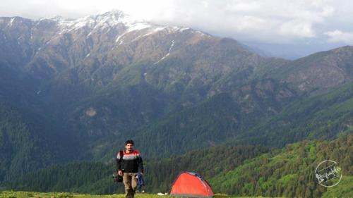 Chandrakhani pass camping