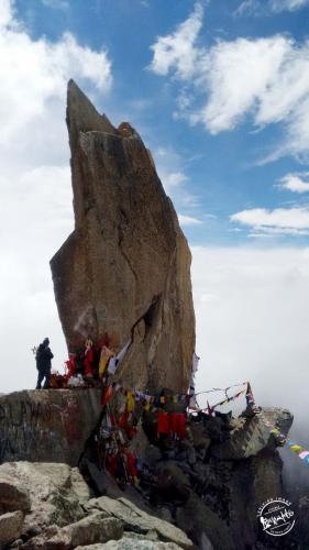 Kinner Kailash Shivling - changes colors several times a day