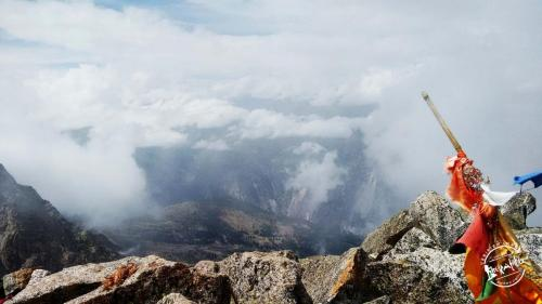 Above the Clouds- Kinner Kailash