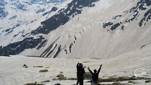 Snow Capped Peaks, Rupin Pass Top