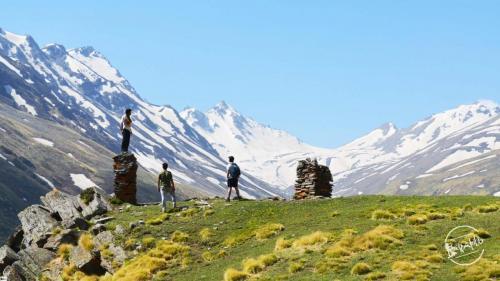 Rupin Pass Via Sangla Kanda