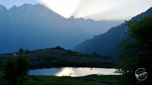Pleasant Sunrise at Sangla Kanda