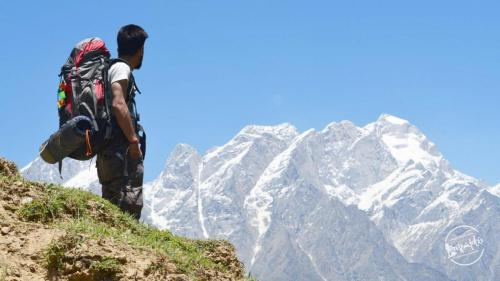 Kinner Kailash Range View En-route Rupin Pass