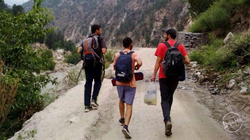 Towards Kinner Kailash