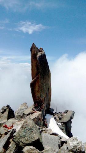 Kinner Kailash  Shivlingam 79 feet long