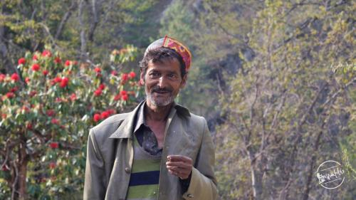 local villager - Grahan Village