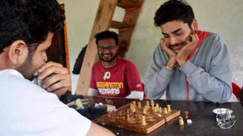 Grahan village -  Chess tym