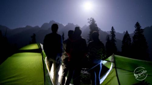 Chandernahan Lake Trek - Moonlight Camping