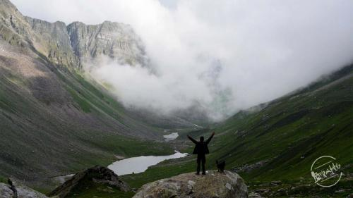 Chandernahan Lake Trek - Amazing view