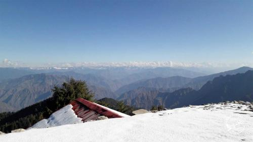 Shali Tibba - panoramic 360-degree view himachal