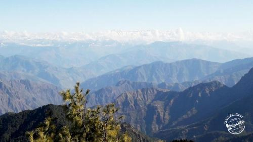 View of Eastern Pir Panjal Range from Shali Tibba top