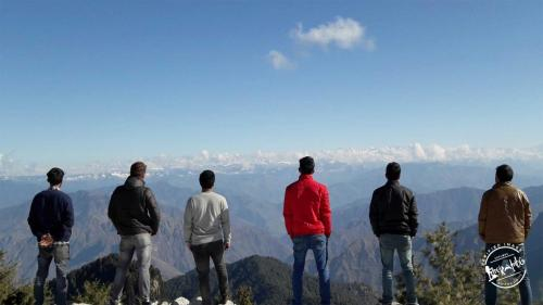 Shali Tibba top view