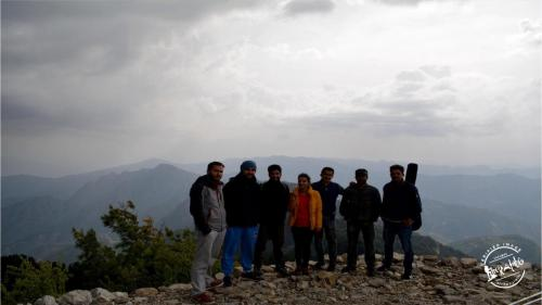 Shali Tibba trek group