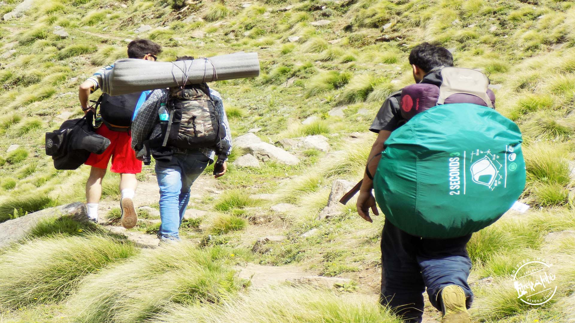 Trekking in Rupin Pass