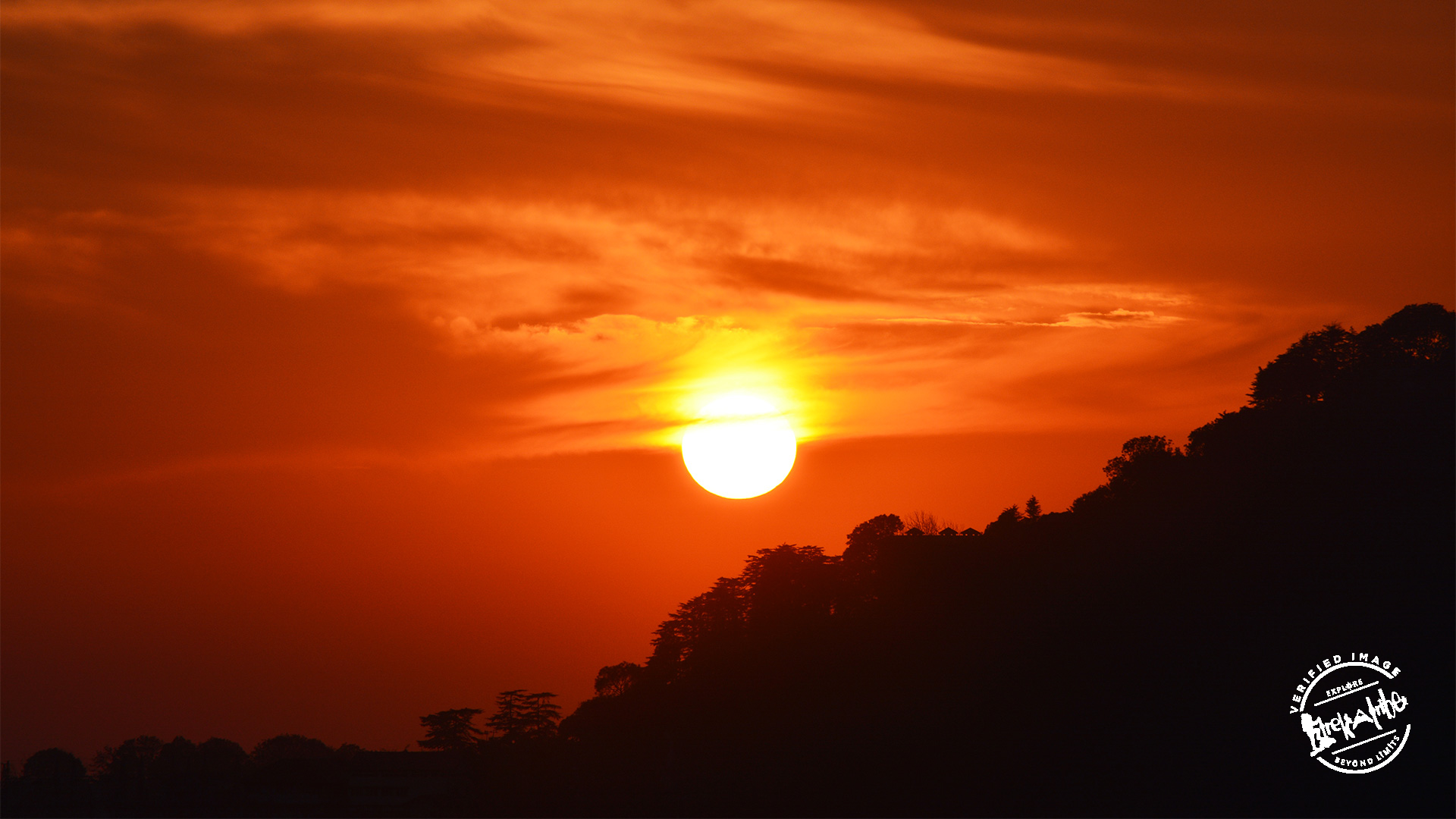 Sunset in Shimla is magical