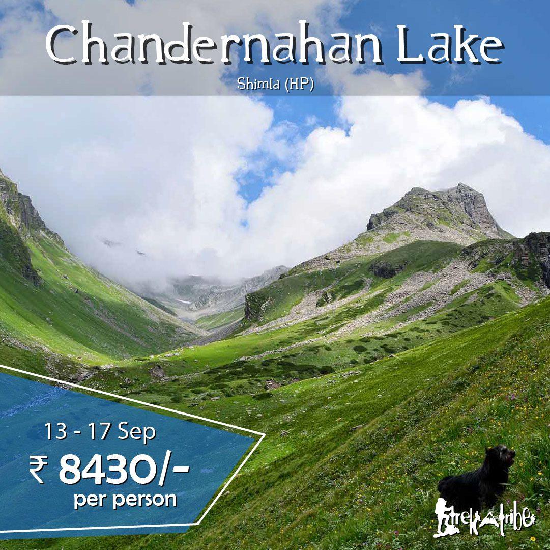 Chandernahan lake trek Pabbar Valley