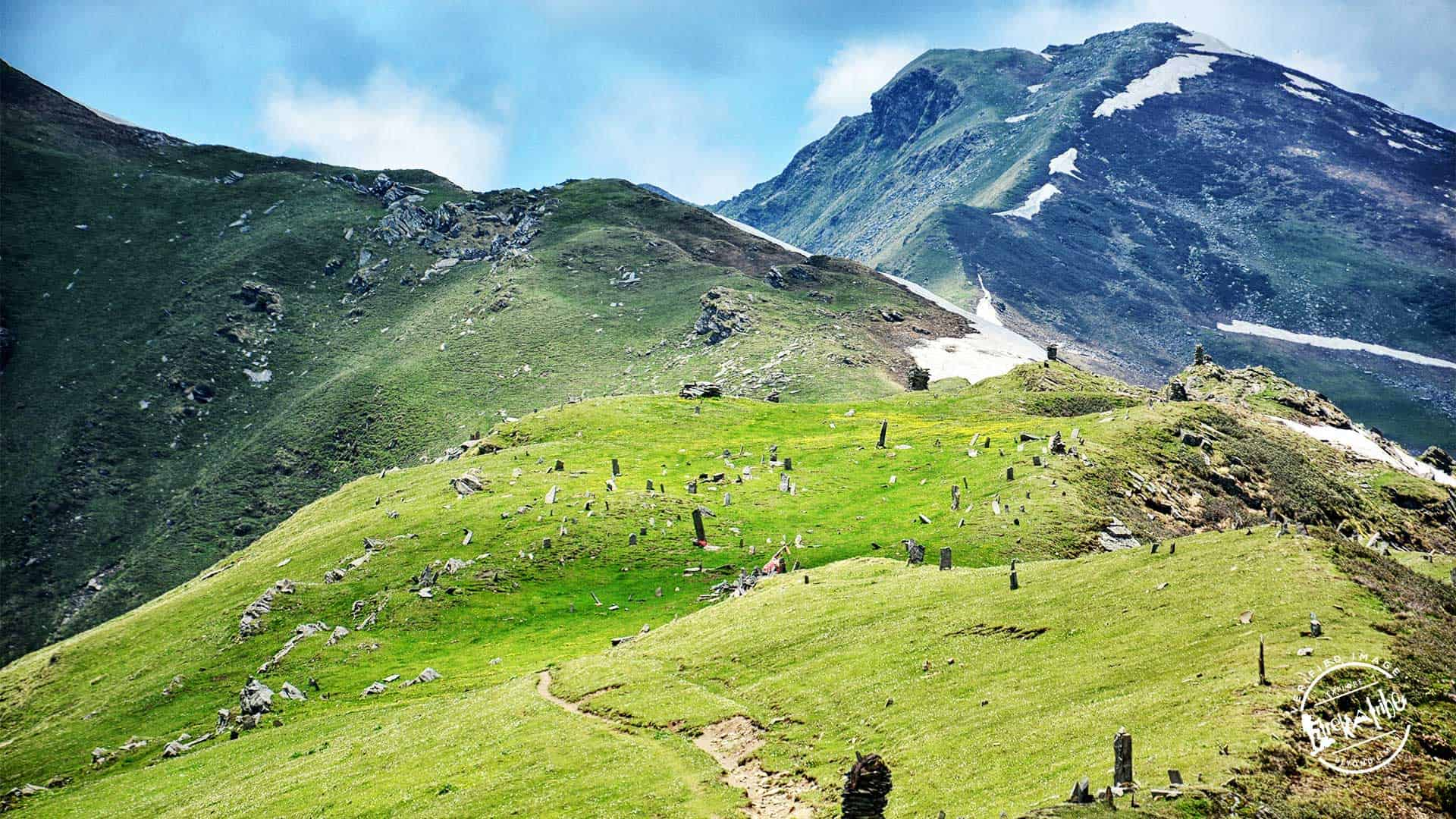 Chandrakhani pass Trek - Garden of Stones