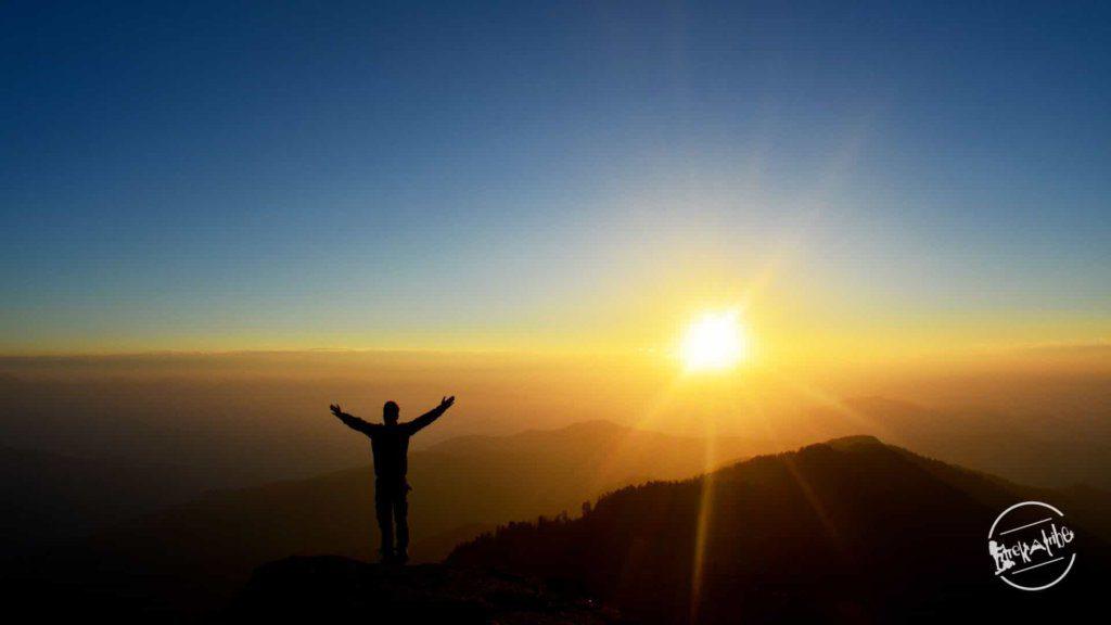 Churdhar Trek - Glorious Sunrise