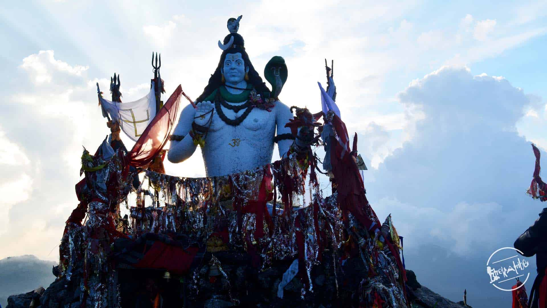 Churdhar Trek Top - Lord Shiva Idol