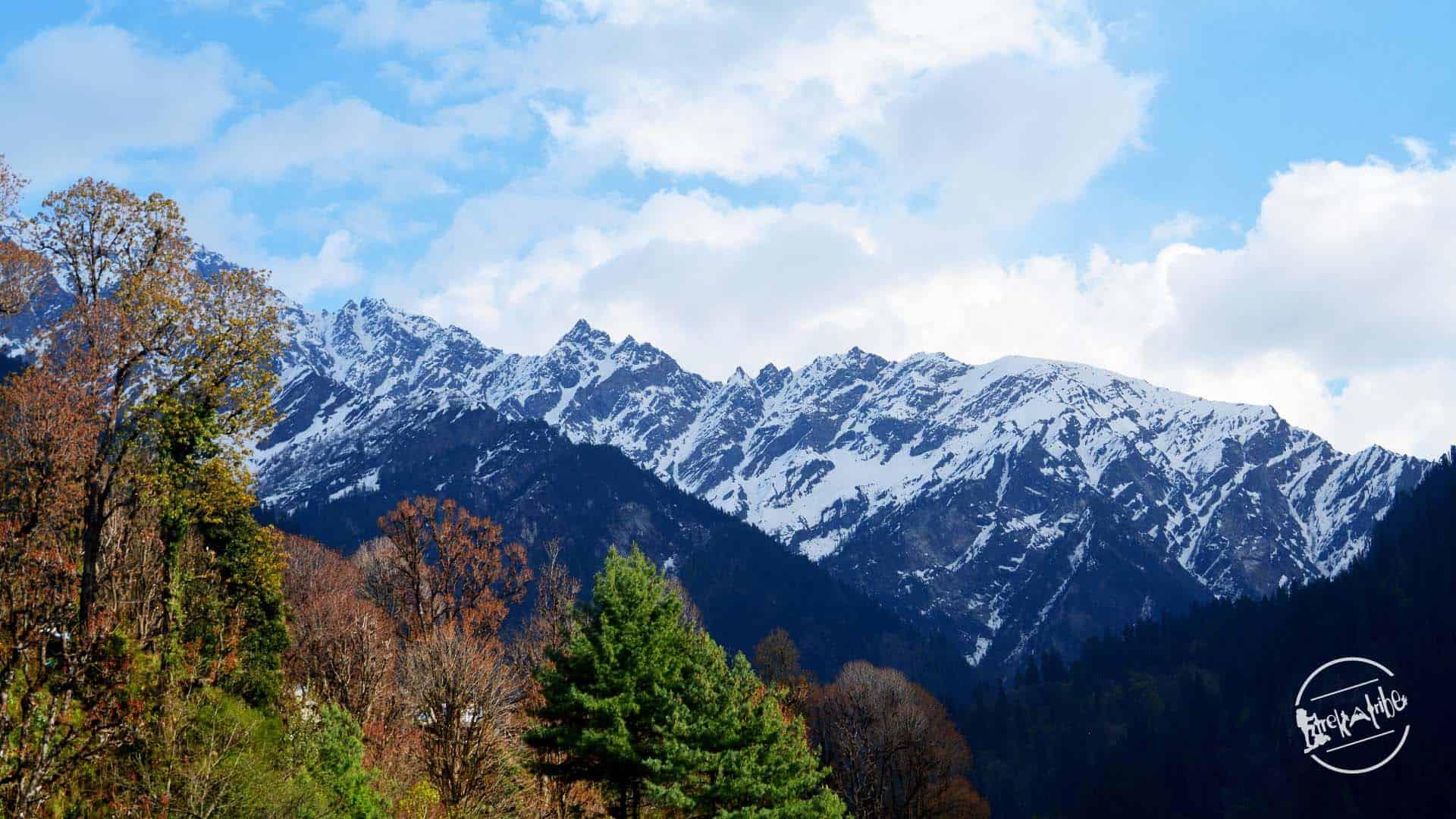 Grahan Village Trekking - Stunning view Of Parvati Valley