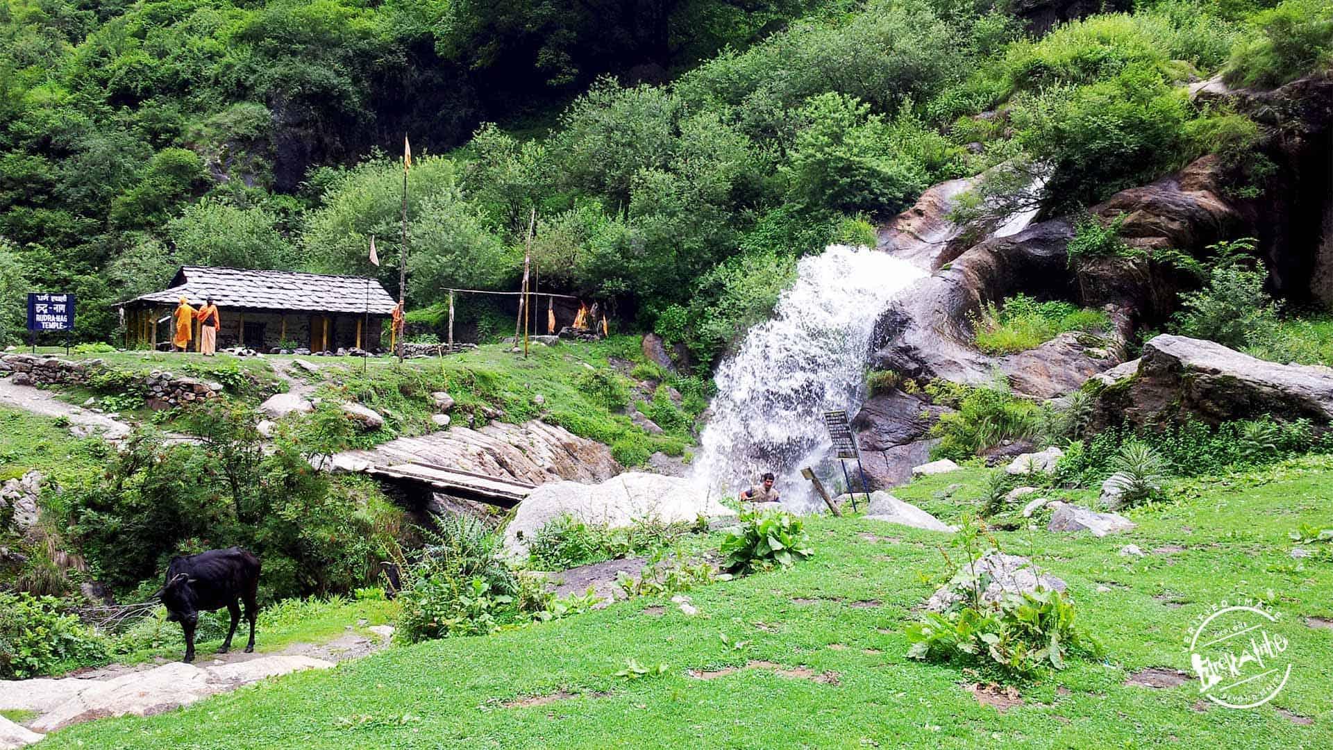 Kheerganga Trek - Rudranag waterfall