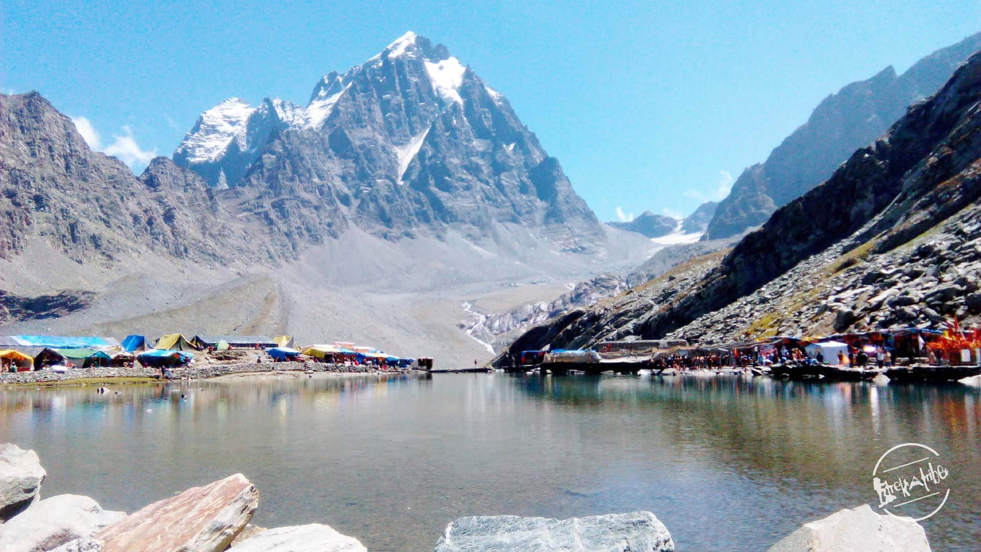 Manimahesh Lake Trek - Manimahesh Lake & kailash Parvat