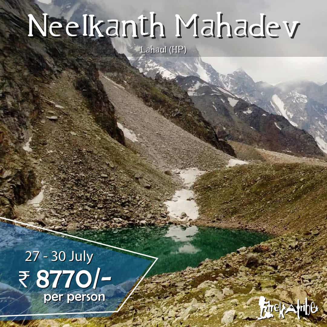 Neelkanth Mahadev Lake Trek - Himachal Pradesh