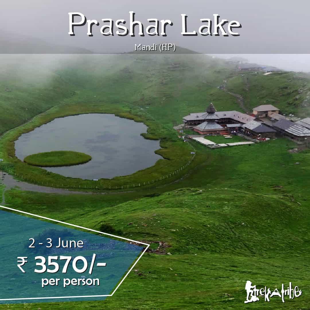 Prashar Lake Trek - mandi