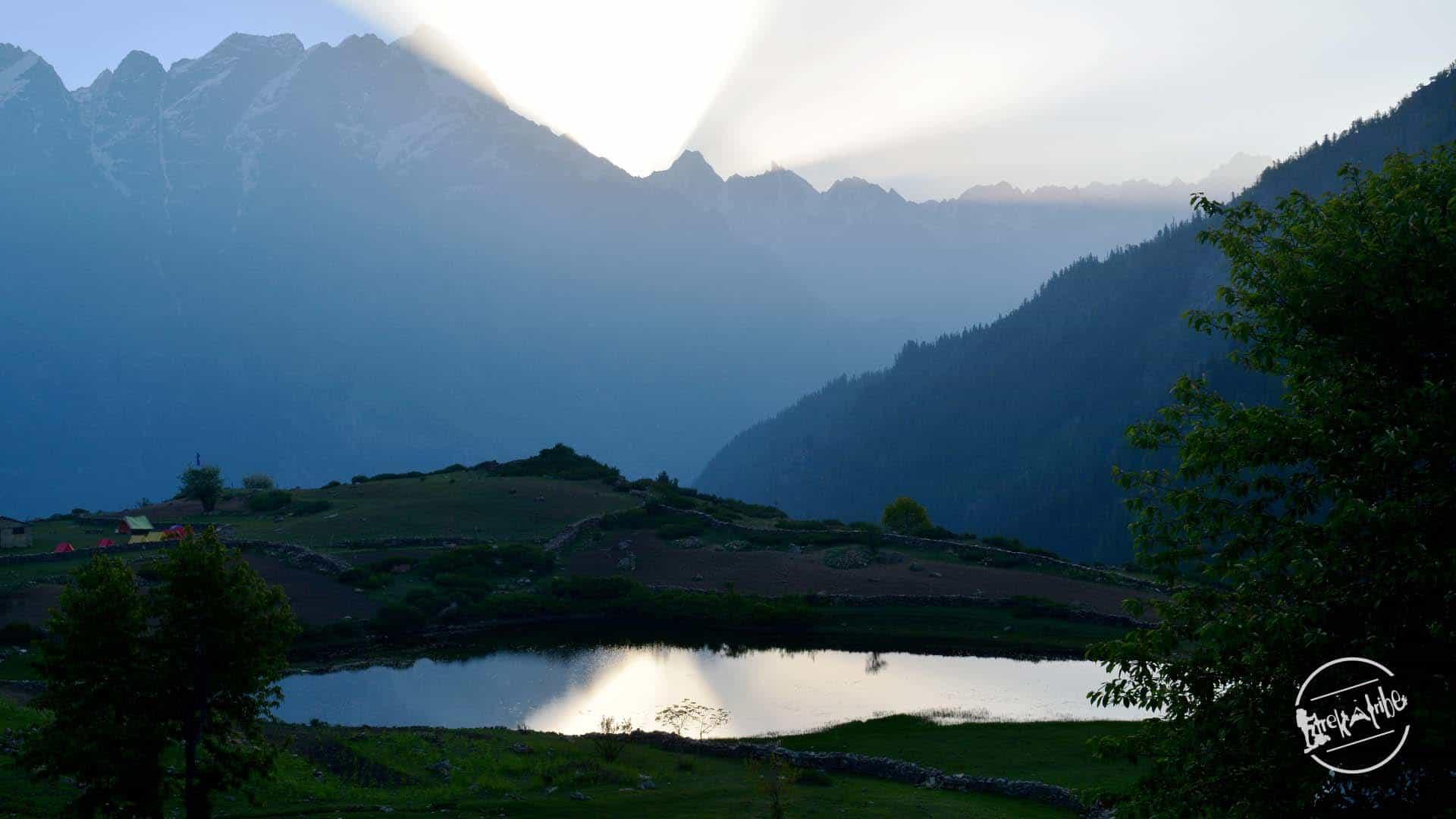 Rupin Pass Trek Sangla Kanda Lake